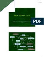 1. Research Design 1 2013