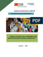 Currículo Regional Por La Emergencia GRELL