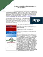 Asociaciones de Fm No Acompañan La Ley De