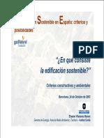 !!!!!La Edificación Sostenible en España criterios y posibilidades.pdf
