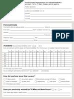 Tkmaxx Application Form