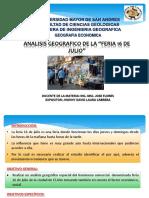 Analisis Geografico de La Feria 16 de Julio[1]