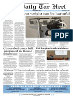 The Daily Tar Heel for March 24, 2017