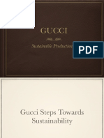 Gucci sustainibility
