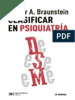 Braunstein%2c Néstor A. - Clasificar en Psiquiatría