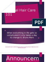natural hair care 101 revised