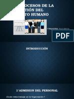 Los 6 Procesos de La Gestión Del Recrso Humano