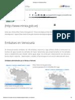 Embalses en Venezuela _ Minea