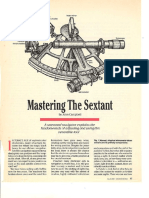 Mastering the Sextant