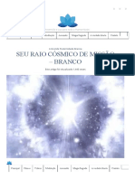 Seu Raio Cósmico de Missão - Branco