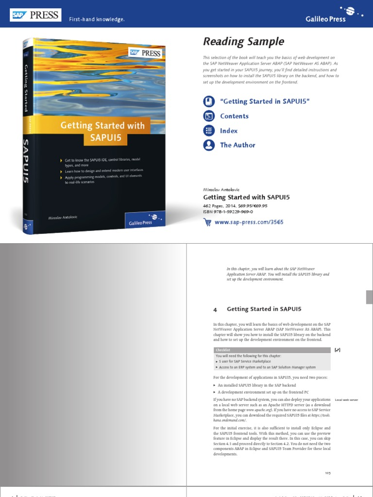 reading_sample_sappress_getting_started_with_sapui5 pdf