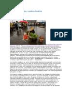 Derechos Humanos y Cambio Climático