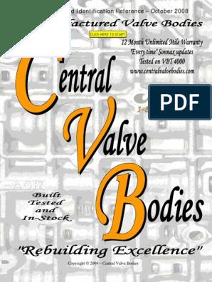Cvb Catalog Valves Bodies