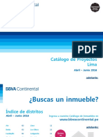 Catálogo Inmobiliario Lima Abr Jun 2016