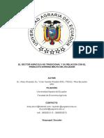 El Sector Agrícola No Tradicional y Su Relación Con El Producto Interno Bruto Del Ecuador