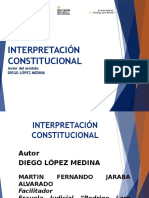 Diapositivas Interpretación Final