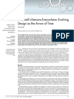 Maxwell's Demons Everywhere Evolving Design as the Arrow of Time