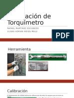 Calibración de Torquímetro
