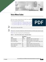 Ata Voice Codes