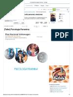 Psicología Femenina Real Social Dynamics
