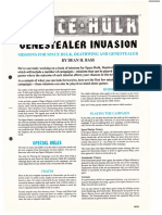 Space Hulk Mission Genestealer Invasion  White Dwarf 133 - 135