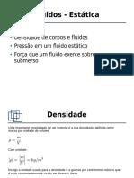 Fisica_2-01 - Fluidos - Estatica