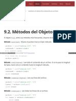 9.2. Métodos Del Objeto File