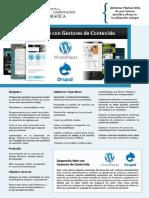 PDF Desarrollo Web Gestores Contenido