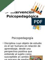 Intervención Psicopedagógica