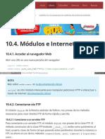10.4. Módulos e Internet