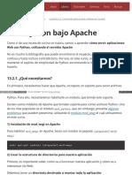 13.2. Python Bajo Apache