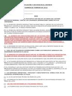 Planificación y Gestion..Examen Feb..2013 Correccion