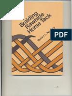 Braiding Rawhide Horse Tack - Robert L. Woolery.pdf