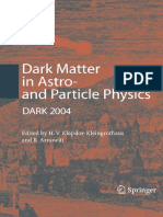 Dark-Matter in Astro- And Particle Physics