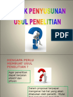TEHNIK PENYUSUNAN USUL PENELITIAN2 (2) - Copy.ppt