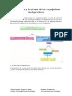Mecanismos y Funciones de Los Manejadores de Dispositivos.
