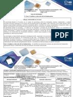 Guía Actividades y Rúbrica de Evaluación. Fase 2. Análisis y Selección de Los Fundamentos