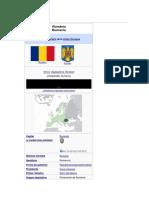 Rumania o Rumania4 en Rumano Romania