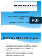 Presentacion de Sistemas Operativos