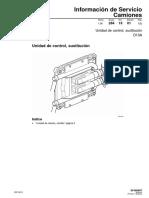 IS.28. Unidad de control, sustitucion. D13A. Edicion 1.pdf