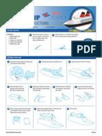 Dcl Cruise Ship Diorama