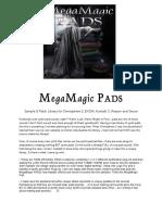 MegaMagic PADS Installation READ ME