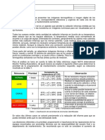 Clasificación de Severidad Termográfica NETA