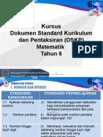 DSKP Matematik Tahun 6 (Pengetahuan)