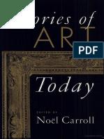 Carroll, Noel- Theories of Art Today.pdf