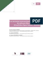 Las Encuestas Internacionales a Empresas de Software Libre y Open Source
