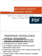 Rapat Sosialisasi SKP