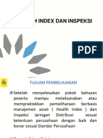 HEALTH INDEX DAN INSPEKSI jaringan 20 kV