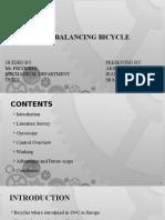 self balancing bicycle-Akshay