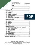 Analisis y Diseño Estructural - Primaria